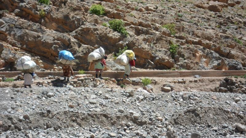 Découverte d'une mine de sel en montagne Atlas_38