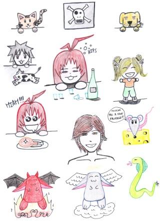 Les dessins et créations d'Anastasia. Img_0021