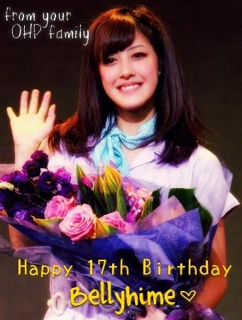 Yurihime's 17th Birthday! Belly210
