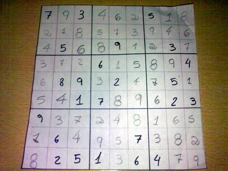 Resolvé los Sudokus y ganá 25 puntos 05072010