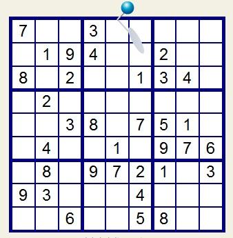 Otro Sudoku y ganá 30 puntos Sudoko10