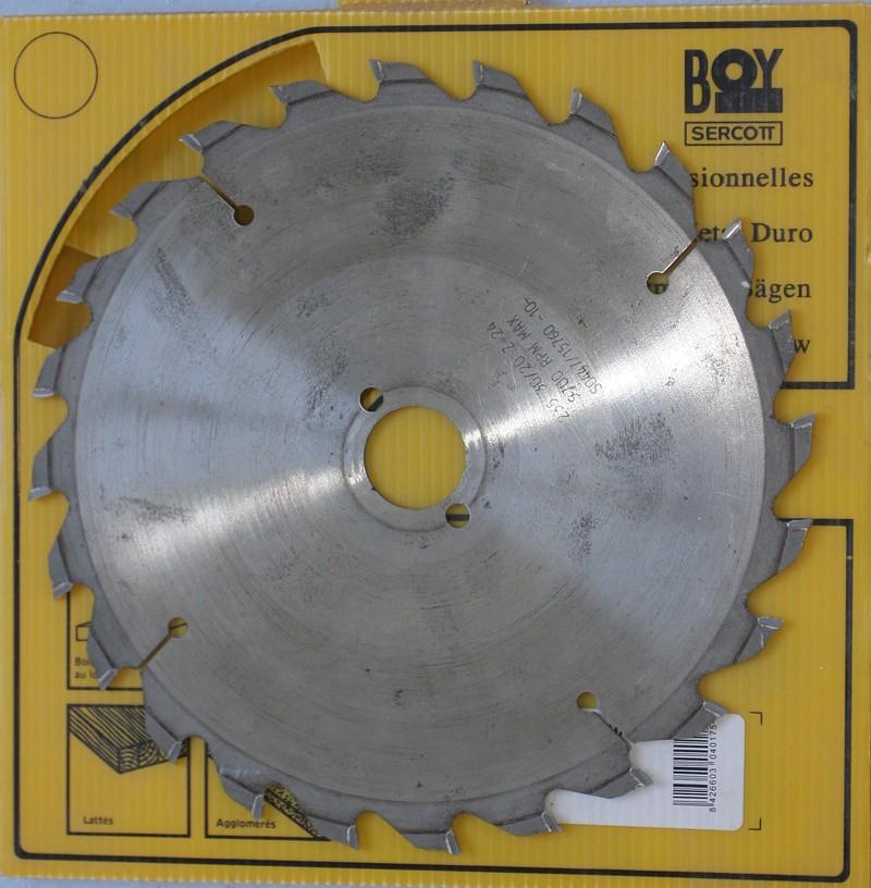 Vends lot de 4 lames de scie circulaire Ø250 [VENDU] 02_jui15
