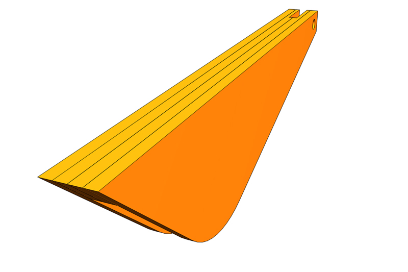 Besoin schéma et cotes protège lame KITY 617 Cape_110