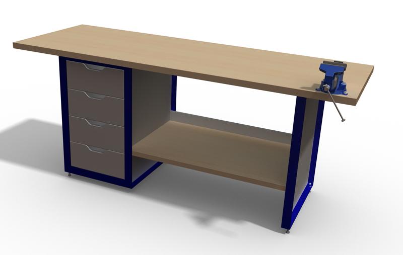 etabli - Etabli acier et bois Etabli11