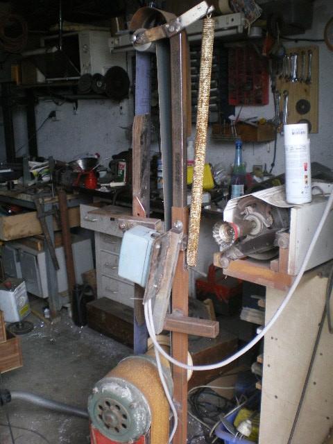 [projet] fabrication d'un Backstand horizontale/verticale Imgp1410
