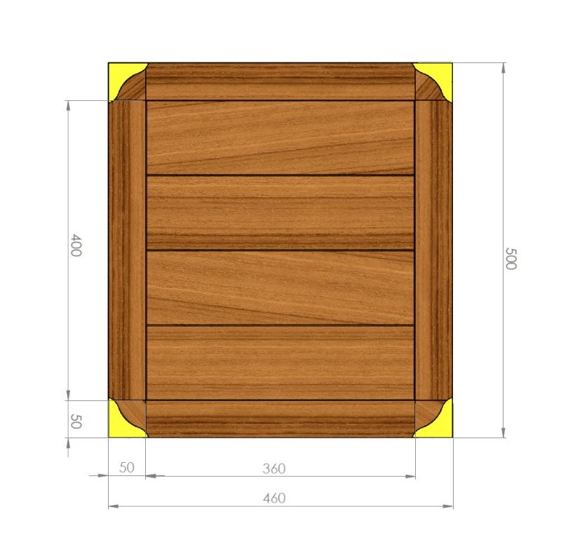 "Petit meuble ""marine"" Plan_m12"