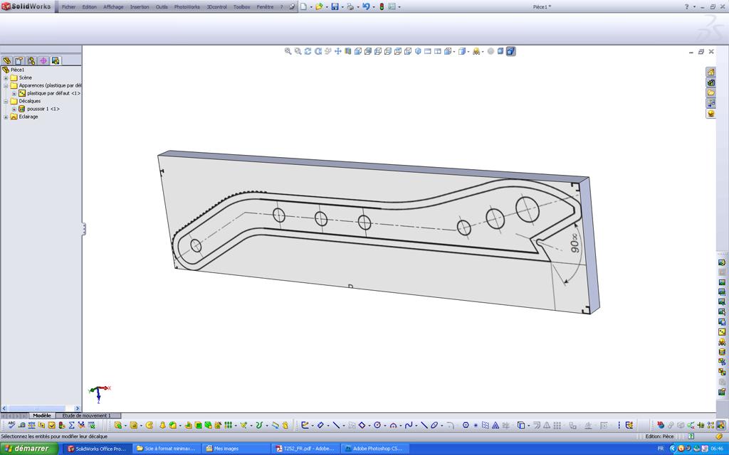 Utilisation d'un scan sous SolidWorks Pousso11