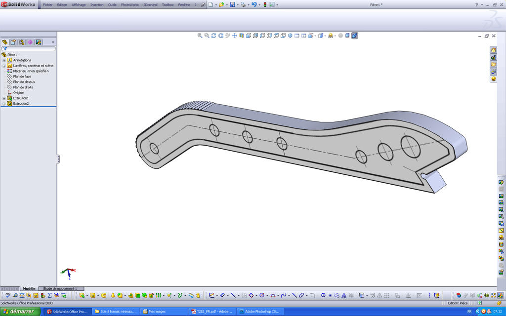 Utilisation d'un scan sous SolidWorks Pousso12