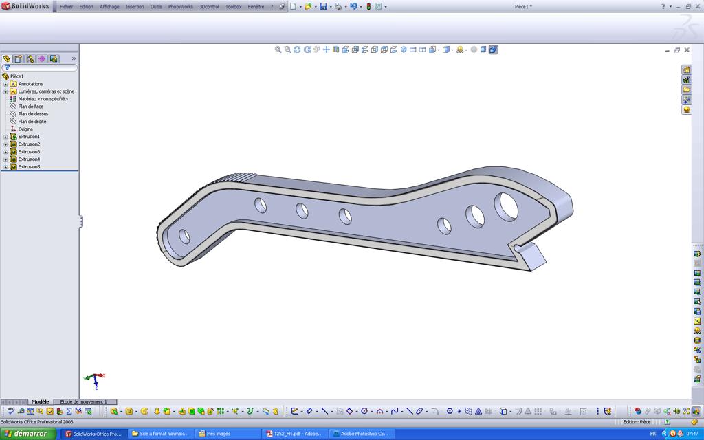 Utilisation d'un scan sous SolidWorks Pousso14