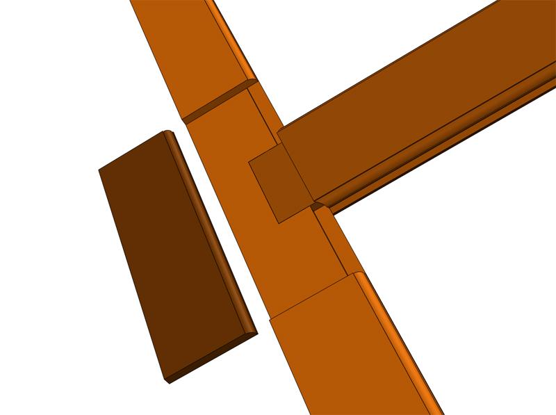 Réparation d'une porte autour de la serrure (RESOLU) Repara10