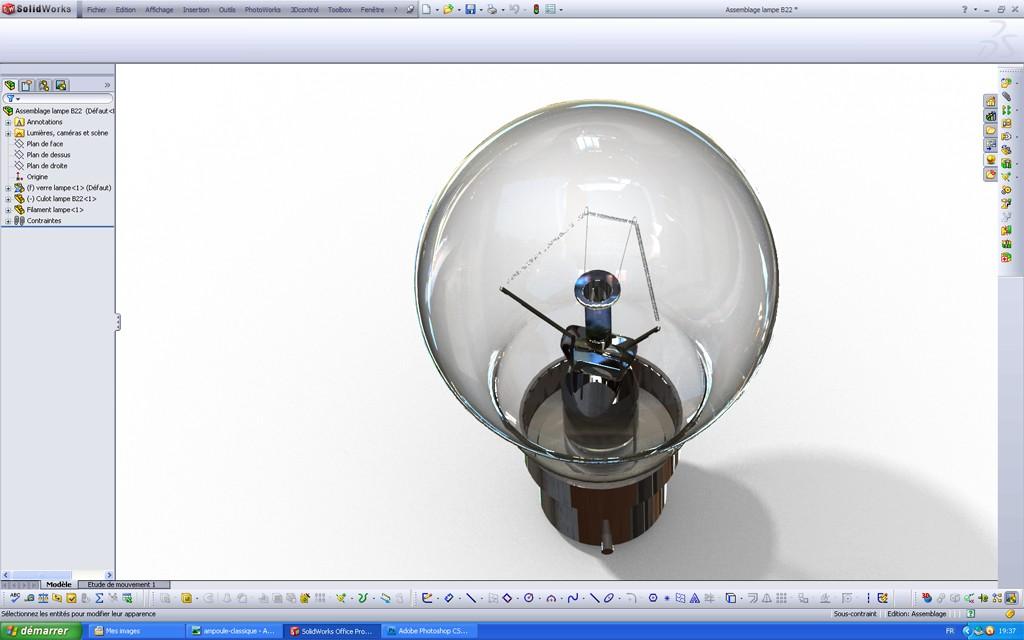 [SolidWorks] Les rendus sous PhotoWorks. Tuto_p29