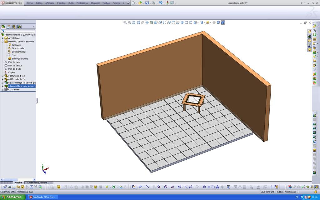 [SolidWorks] Les rendus sous PhotoWorks. Tuto_p34