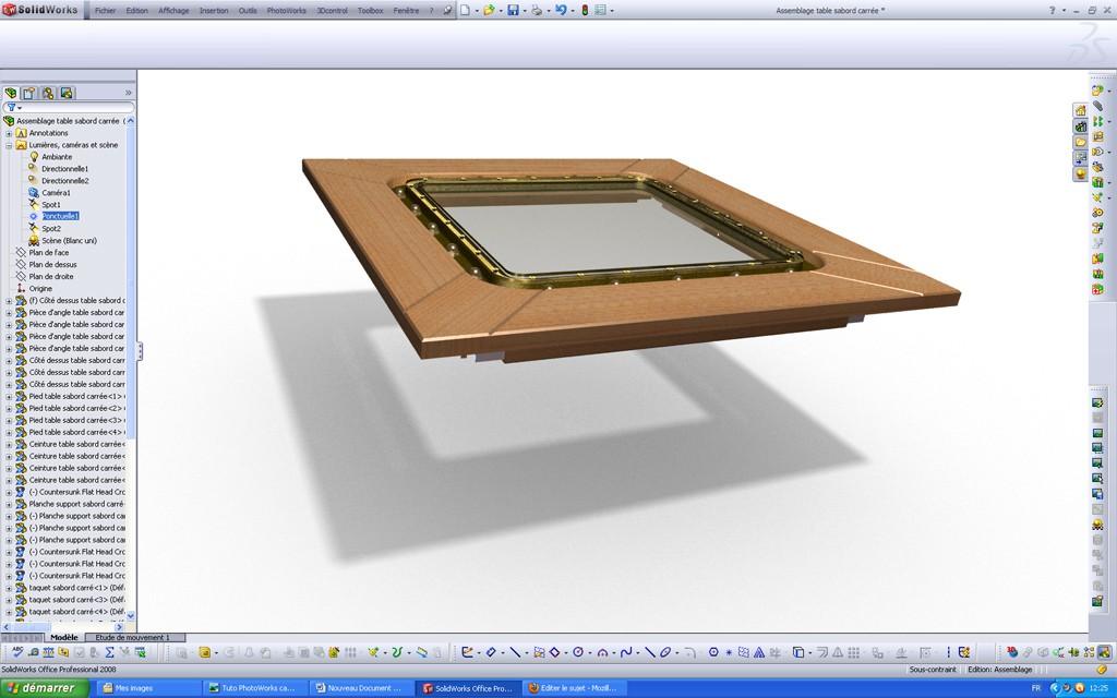 [SolidWorks] Les rendus sous PhotoWorks. Tuto_p35