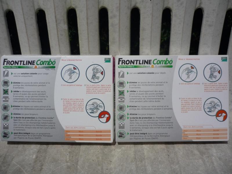 ALERTE : Contrefaçon de Frontline 412