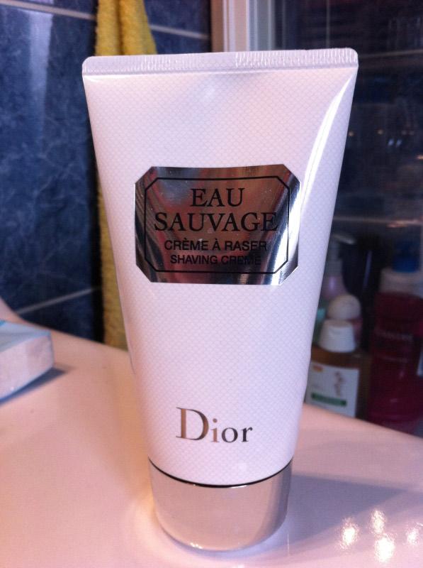 En v'là du luxe : crème Dior Eau Sauvage Img_0015