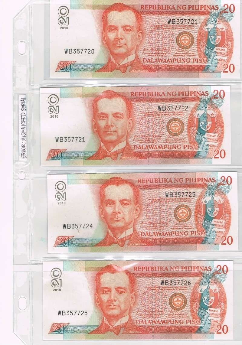Sharing my Banknote Error Collection Ccf09012
