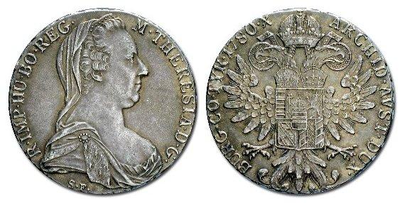 Maria Theresa Thaler 1780 - Error? Copy_o10