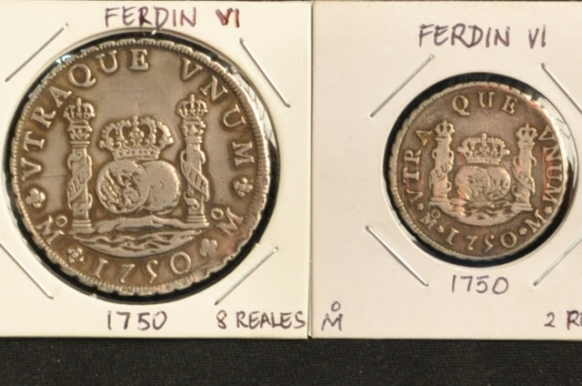 Various Dos Mundos Coins for Sale Csc_4819