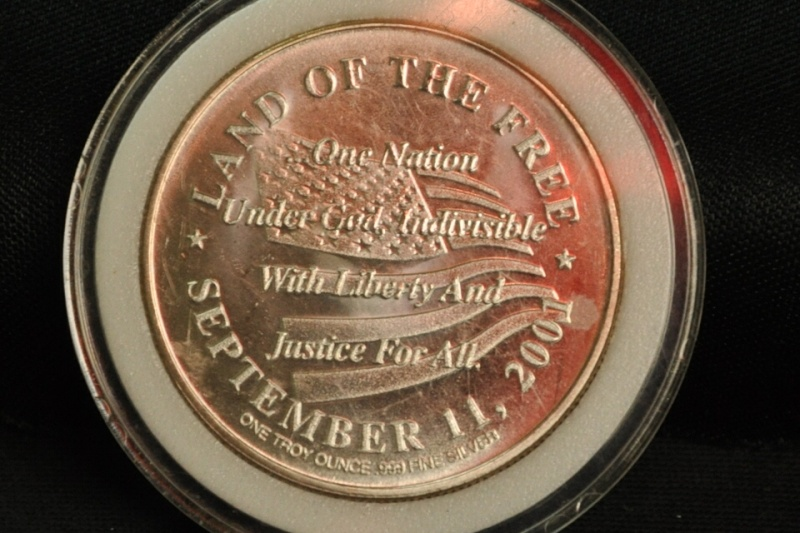NEW YORK SEP 11, 2001 COMMEMORATIVE COIN Ny_9-111