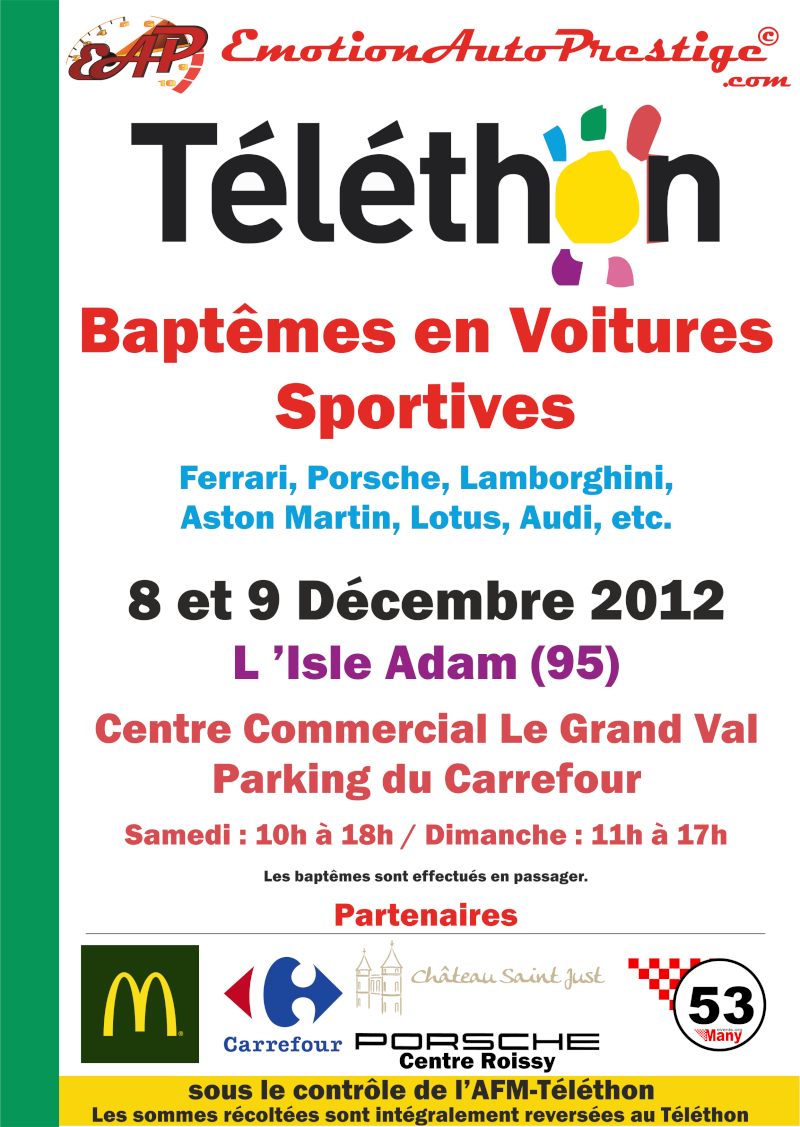 Téléthon et Baptèmes GT / Supercars Eap-te11