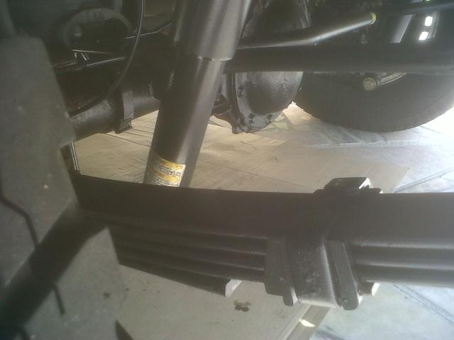 Rouille sur Châssis de Hummer Hummer41