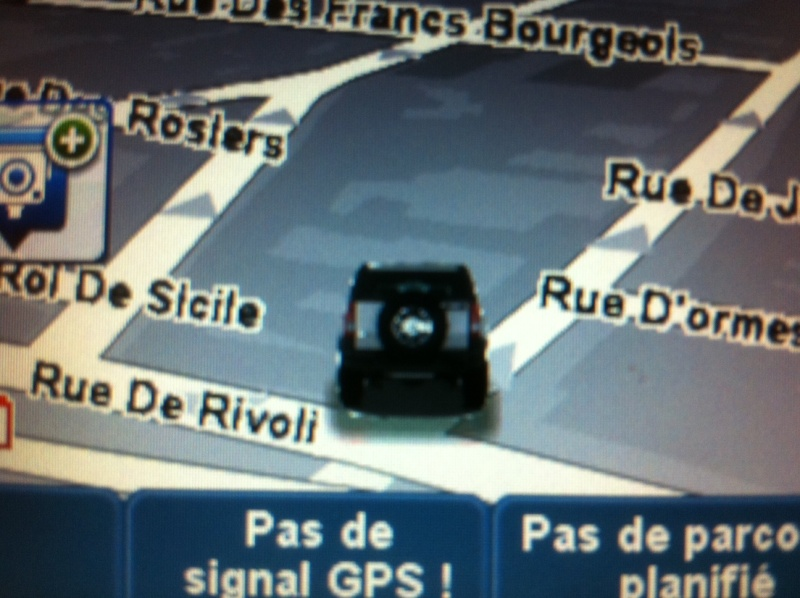 personnalisation du GPS Tom_to10