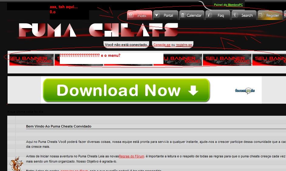 Menu de acesso personalizado Imagem33