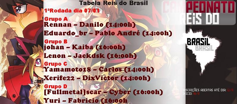 Campeonato Reis do Brasil 1aroda10