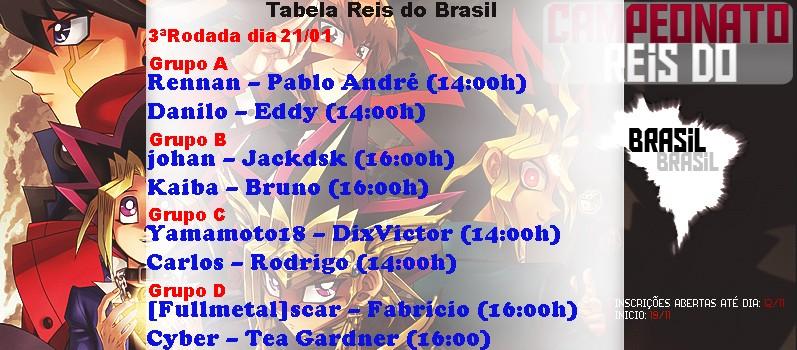 Campeonato Reis do Brasil 3aroda10