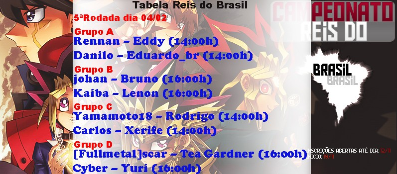 Campeonato Reis do Brasil 5aroda10
