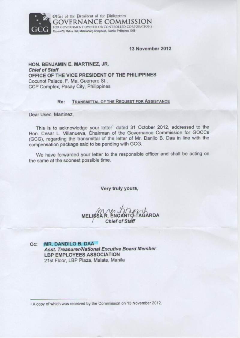 request for assistance re: compensation package Dan212