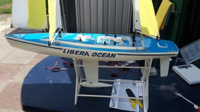 """Rennketsch """"Libera Ocean"""" von Graupner, Vorstellung und Revision 20180716"""