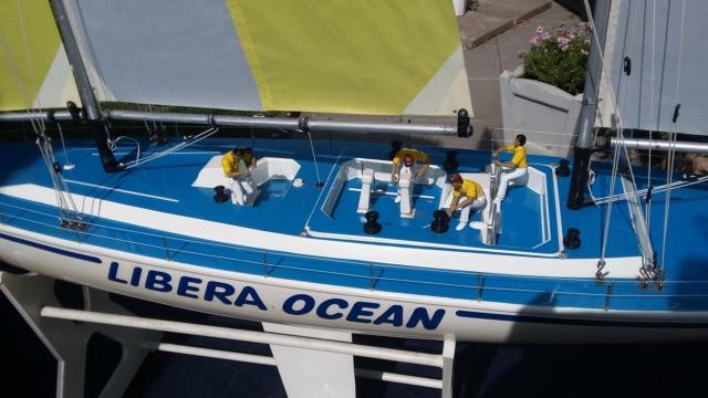 """Rennketsch """"Libera Ocean"""" von Graupner, Vorstellung und Revision 20180733"""