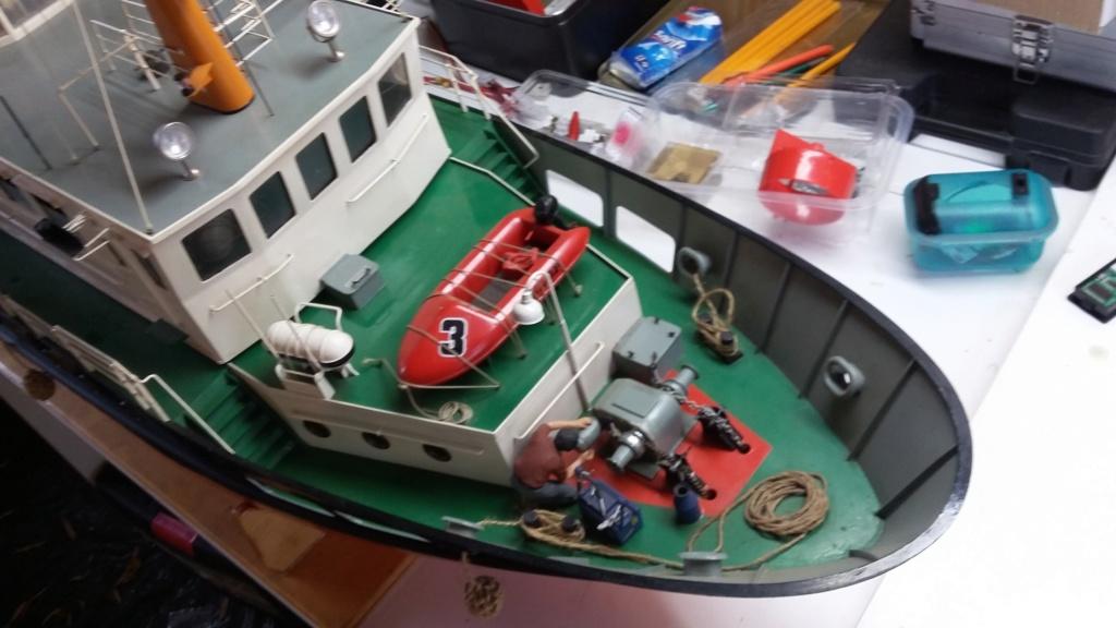 Restaurierung einer Norderney von Robbe 20181010