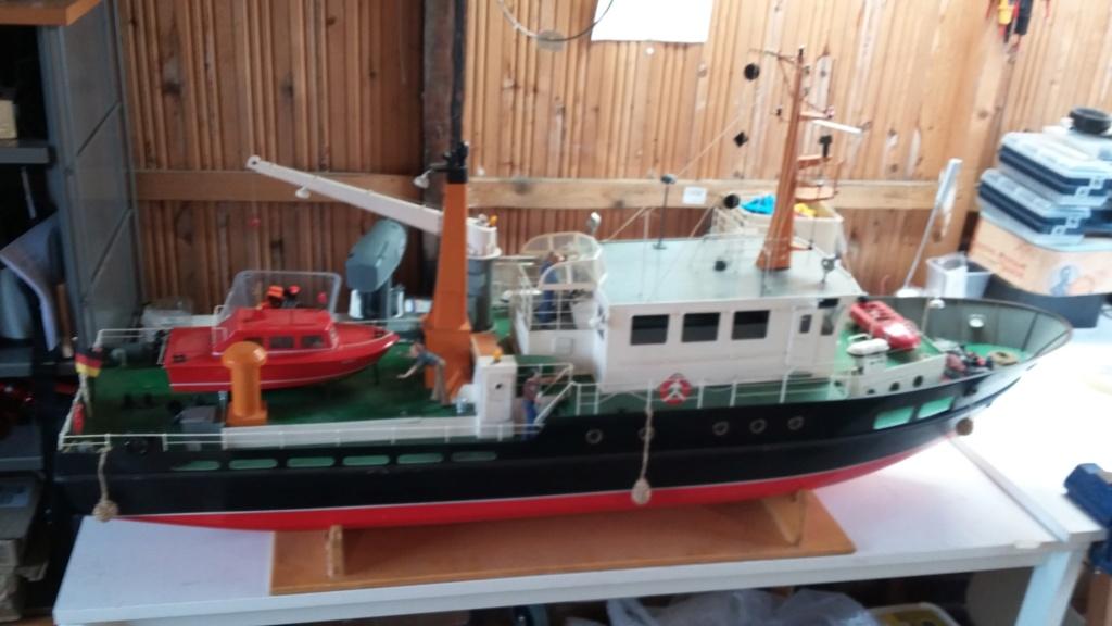 Restaurierung einer Norderney von Robbe 20181011