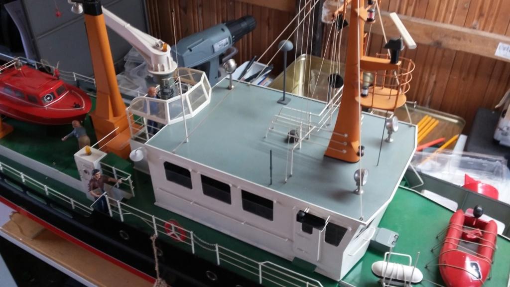 Restaurierung einer Norderney von Robbe 20181012