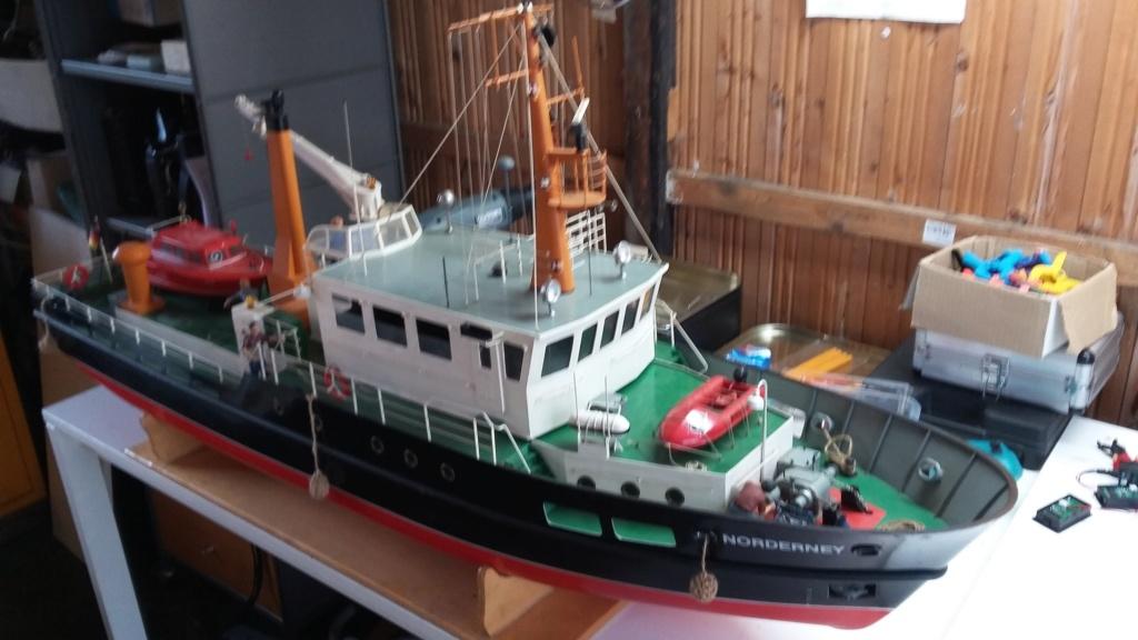 Restaurierung einer Norderney von Robbe 20181013