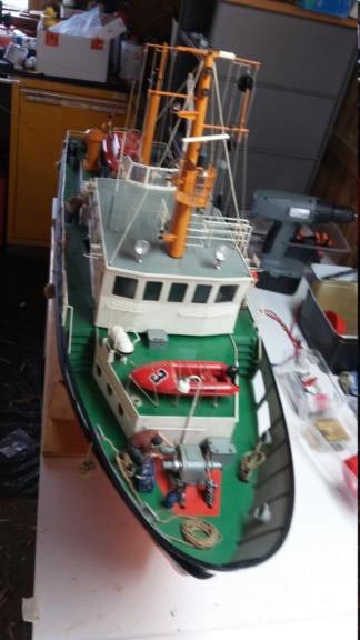 Restaurierung einer Norderney von Robbe 20181014
