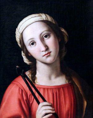 9 février : Sainte Apolline d'Alexandrie Appoli10