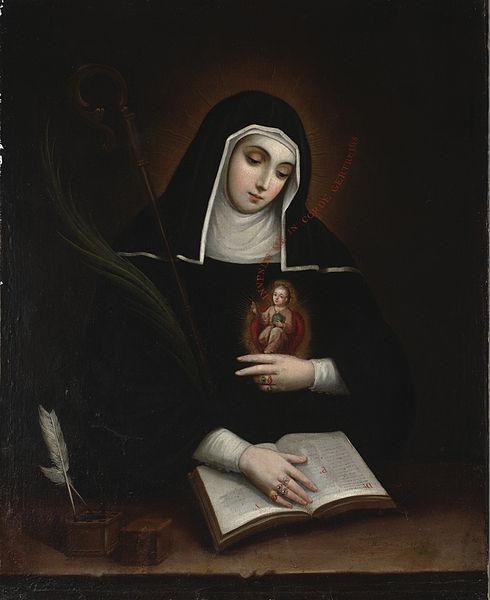 16 novembre : Saint Gertrude d'Helfta Gertru10