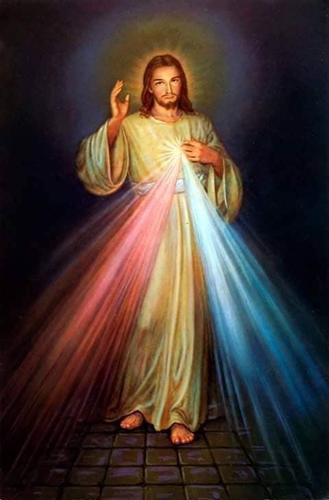 Du 2 au 10 avril 2021 Neuvaine à la Miséricorde Divine Jesus10