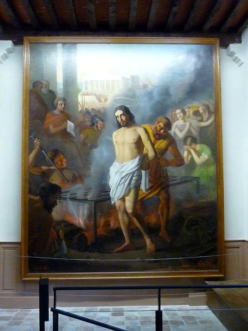 10 août Saint Laurent de Rome Lauren10
