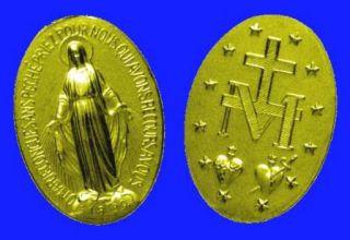 27 novembre : Apparition de la Vierge Marie à la Rue du Bac  Medail10