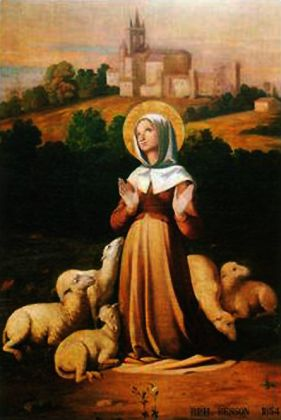 15 juin : Sainte Germaine Cousin (de Pibrac) Saint-12