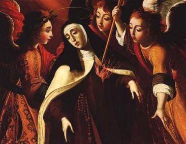 15 octobre Sainte Thérèse d'Avila St_ter10