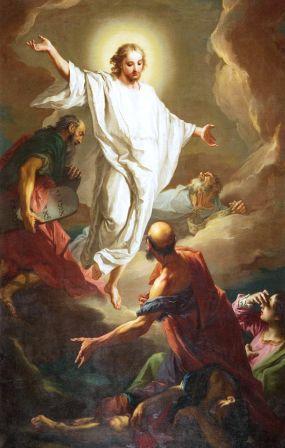 6 août : Transfiguration du Seigneur  Transf10