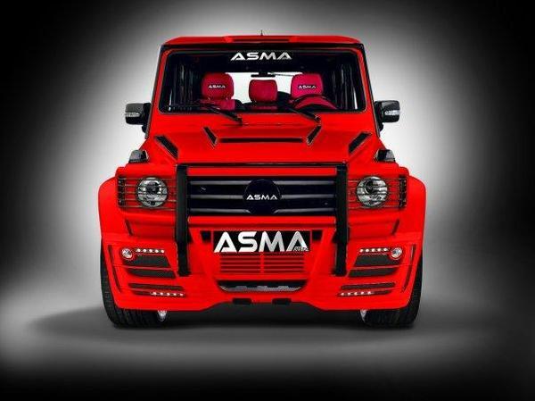 Asma General G-Wagen: horrible, non? As210