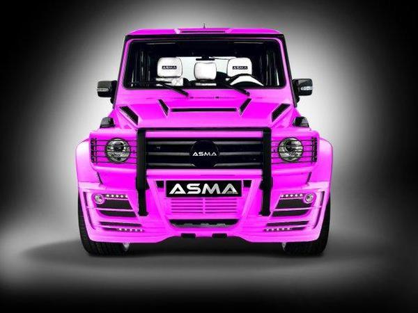 Asma General G-Wagen: horrible, non? Asm110