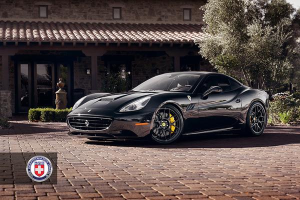 Ferrari California HRE; simplement virile F112