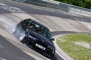 BMW M3 V10, l'outil idéal pour faire fumer les pneus M312